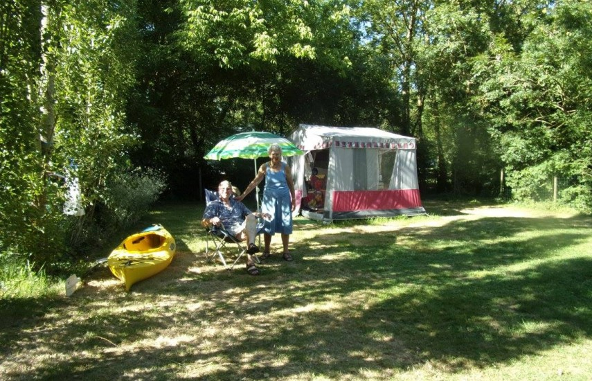 emplacement camping venise verte